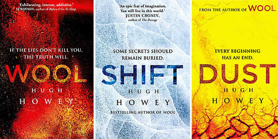 wool trilogy dystopian