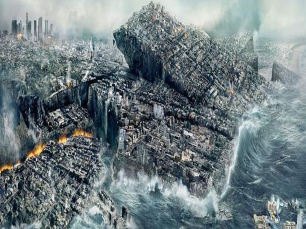 D news world news dystopian for Best place to be in an earthquake