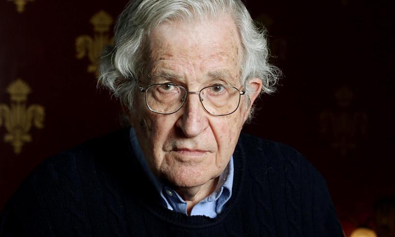 Chomsky Orwell