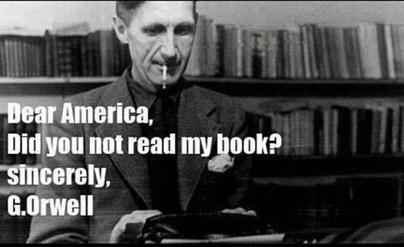 George Orwell final warning
