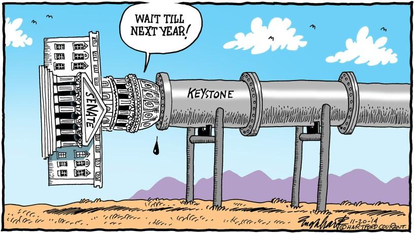keystone oil spill